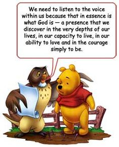 winnie the pooh and god - Google Search