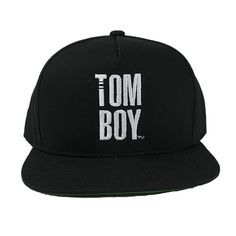 THE Tomboy Snapback Hat - Black | 2014 TomboyX – Women's clothing, menswear inspired