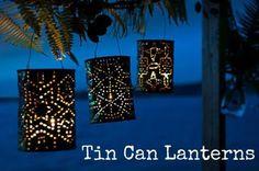 tin can lantern
