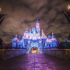 Sleeping Beauty's Castle at Disneyland. adventures by disney, disney adventures Disney And More, Disney Love, Disney Magic, Disney Disney, Disney Stuff, Disneyland 60th, Disneyland Vacation, Disney Resorts, Disney Parks