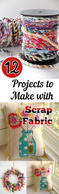 12 projects to make with scrap fabric