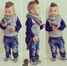 Baby boy http://www.hairstyles-haircuts.com #fashion  #little