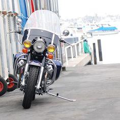 """198 gilla-markeringar, 5 kommentarer - Moe (@cyclegardenmotorcycles) på Instagram: """"Scott Shurgin's #stellarbluemetallic 1974 #motoguzzieldorado #guzzieldorado"""" Moto Guzzi Motorcycles, S1000r, Custom Bikes, Motorbikes, Cali, Nostalgia, Lord, Instagram Posts, Blue"""