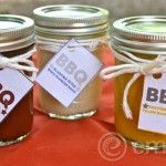 3 Homemade BBQ Sauces with Printable Labels #bbq #allergy #printable #label