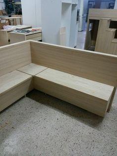Panca apribile ad angolo in rovere. legnoeoltre.altervista.org | DIY ...