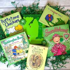 We're reading in green this St. Patrick's Day!