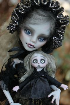 OOAK Fairy Tale Custom Repaint Monster High Victorian Goth by A Gibbons | eBay