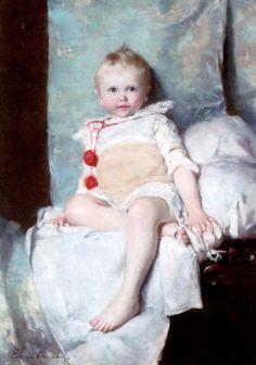 Emma Ekwall (1838 – 1925, Swedish) Little Boy