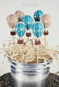 Hot Air Balloon Cake Pops