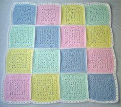 Design Option 4 for Oliver's Baby Blanket. @Wendy Thornell