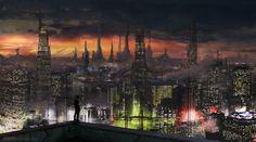 ArtStation - Roofers of 2071, Roman Ignatowski