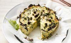 Libelle Lijnt Lekker-recept: broccoliquiche met pistachenoten