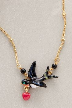 Anthropologie's New Arrivals: Les Nereides Necklaces - Topista