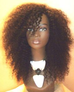 The Untamed Curl: Malaysian Romance Curl Kinky Curly Human Hair U Part Wig