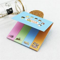 Running Man K-Pop TV Show Official Icon Colorful Sticky Memo Notes  #RunningMan #KPop #TV #Show #Official #Icon #Colorful #Sticky #Memo #Notes