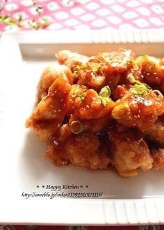 ご飯がすすむ!甘辛ジンジャーソースで油淋鶏風 | たっきーママ オフィシャルブログ「たっきーママ@happy kitchen」Powered by Ameba