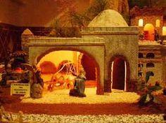 Anunciación del Nacimiento de Jesús. Belén de la Familia Bleda