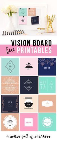 A Novel-Writing Vision Board