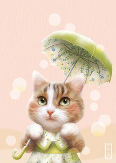 비 오는 날 호두