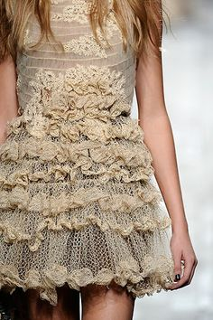 Ruffles and Lace.