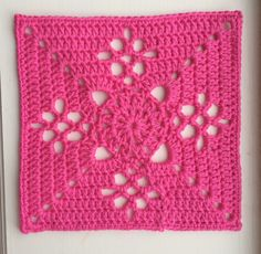 Crochet Granny Square Patterns Ravelry: Victorian Lattice Square - free pattern by Destany Wymore, ~free crochet patterns~ - Crochet Motifs, Granny Square Crochet Pattern, Crochet Blocks, Crochet Squares, Crochet Stitches, Crochet Patterns, Crochet Crafts, Crochet Projects, Love Crochet