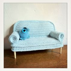crochet sofa