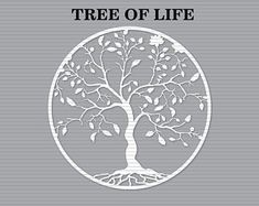Silhouette Projects, Silhouette Cameo, Tree Silhouette, Tree Cut Out, All Silhouettes, Tree Stencil, Cricut, Celtic Tree Of Life, Tree Svg