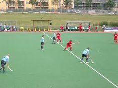 L'hockey su prato è uno sport di squadra in cui due formazioni di 11 giocatori muniti di bastoni ricurvi si fronteggiano con l'obiettivo di mandare una palla di piccole dimensioni nella porta avversaria, difesa da un portiere