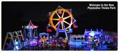 Welcome to the New PlaymoDoc Theame Park  #playmobil #Playmodocthemepark #Freizeitpark #april #Amusement #theme #Park #train #clown #balloon #athenssky #athenseye #keepcalm #sepia #lollipop #girl #candy #juice #popcorn #kids #fun #athens #grecobil
