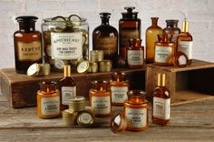 Paddywax Apothecary Candles available from: http://www.rooi.com/product/paddywax-apothecary-candle