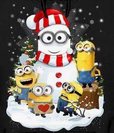 Amor Minions, Cute Minions, My Minion, Minions Quotes, Funny Minion, Funny Jokes, Merry Christmas Minions, Christmas Quotes, Christmas Pictures