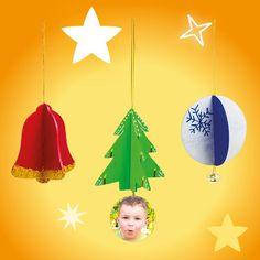 Weihnachtsänhänger 3 D | Mawi Spiele
