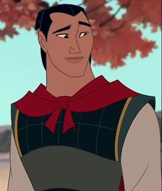 General Li Shang is a Chinese army captain and the tritagonist of Disney's 1998 animated feature fil. Walt Disney, Disney Wiki, Disney And Dreamworks, Disney Magic, Disney Art, Disney Movies, Disney Pixar, Disney Characters, Disney Boys