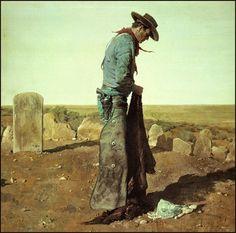 Robert McGinnis - John Wayne, The Searchers