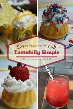 Be Ready for Unexpected Guests withTastefully Simple - Ever After in the Woods Fast Meals, Tastefully Simple, Easy Entertaining, Melting Pot, Dessert Recipes, Desserts, Woods, Treats, Breakfast