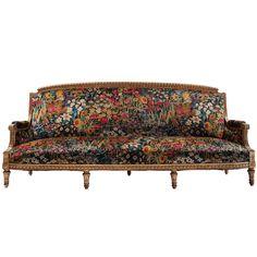 Gilded Sofa   1stdibs.com
