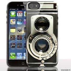 cd459a453d7d Coque Apple iPhone 5S 5 Appareil Photo Vintage.  appareil  photo  coque