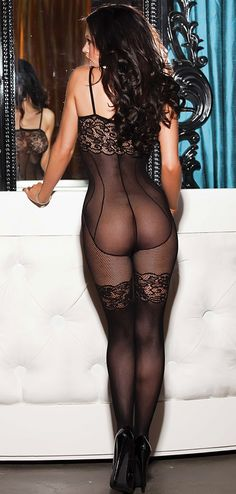 Sexy Corset Body Stocking