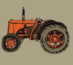 Tractor T- Shirt Foodie Fun
