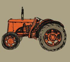 Tractor T- Shirt Foodie Fun