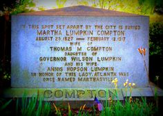 Your Peachy Past: The Naming of Atlanta (Tombstone Tuesday) #genealogy
