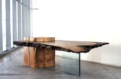 John Houshmand Raw Wood Tables and Furniture | Inthralld