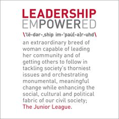 The Junior League T-Shirt - Leadership Empowered