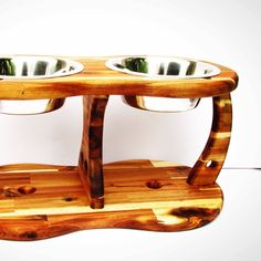 Elevated dog bowl stand for big dogs!