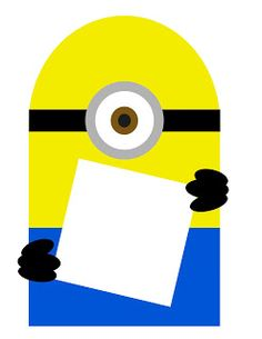 Despicable Me Minion Party: Minion bunting free printable @Melanie Bauer Bauer Wernersbach