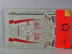 Model Car Kit SLIXX Decals Monogram CIRCUIT CITY #8
