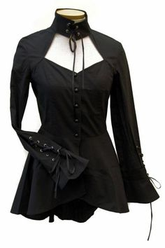 I found 'Sleepy Hollow corset jacket Top' on Wish, check it out! This would be neat if it was long enough to act as a dress also