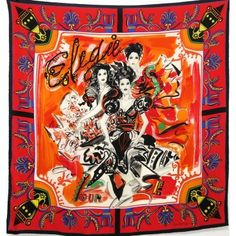 Wearing Scarves, How To Wear Scarves, Gianni Versace, Missoni, Kenzo, Leonard Paris, Burberry, Valentino, Dimensions