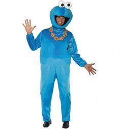Men's Sesame Street Cookie Monster Fancy Dress Costume  £51.99