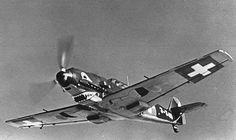 Messerschmitt Bf 109E-3 J345 WNr 2386 Swiss Flieger Kompagnie FlKp21.